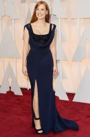 jessica chastain - givenchy couture (gioielli piaget)